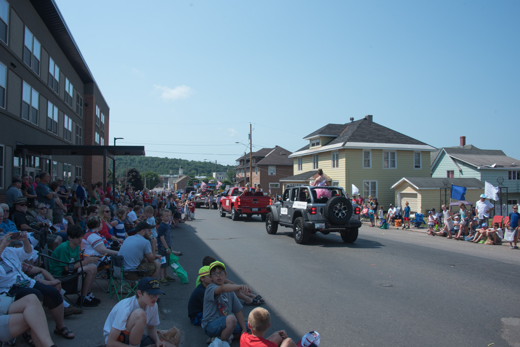 Join us in Marquette for our second parade of the day.