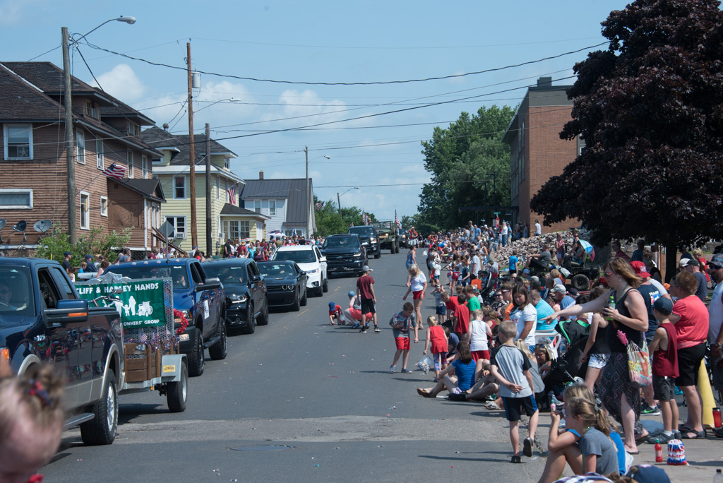 What a great turn out for another parade.
