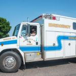Marquette County Emergency services was there too.