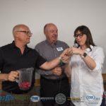 Todd Noordyk, Jim Grundstrom and Jill Grundstrom pulling finalist tickets.