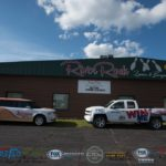 The Sunny Flex and our grand prize outside of River Rock Lanes.