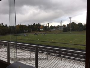 The clouds roll in, the temperature drops, but the game is just heating up.