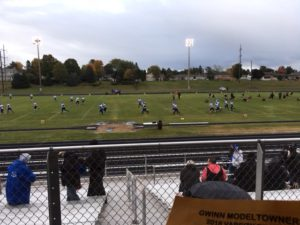 Warm ups are always essential for football.