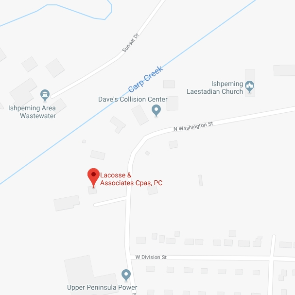 Find LaCosse and Associates of Ishpeming with Google Maps
