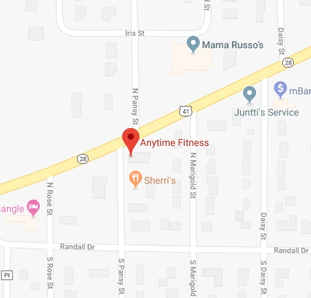 Visit Anytime Fitness with Google Maps