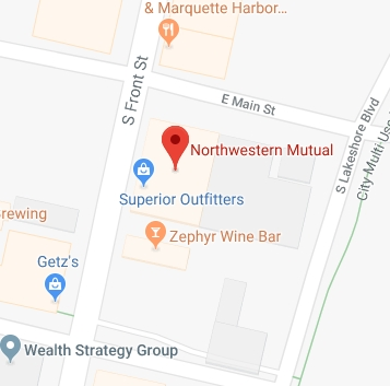 Find Northwestern Mutual with Google Maps