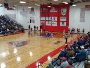 The Ishpeming Hematites on defense against the Westwood Patriots on 98.3 WRUP on December 10th, 2018