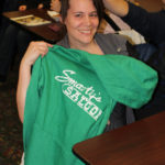 Thanks to Smarty's Saloon for donating this hoodie as a door prize.