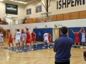 Looking to make a pass during the game between the Ishpeming Hematites and the Marquette Redmen this Tuesday on 98.3 WRUP and WRUP.com