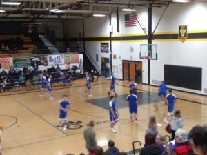 The Ishpeming Hematites prepare to face the Gwinn Modeltowners on 98.3 WRUP