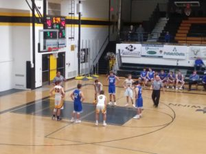 The Ishpeming Hematites boys basketball team narrowly defeated the Gwinn Modeltowners Thursday on 98.3 WRUP