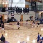 The Ishpeming Hematites fall to the Gladstone Braves 64-39 in Gladstone, Michigan on Tuesday, January 22nd, 2019.