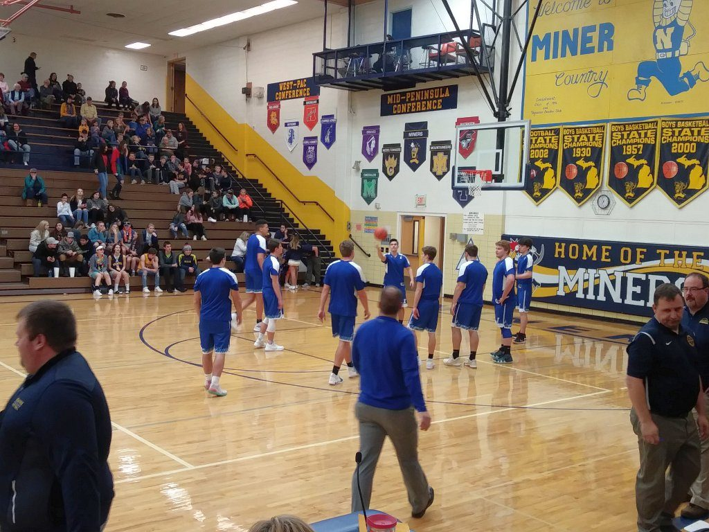 Watch as the Ishpeming Hematites as they battle against the Marquette Redmen tonight!
