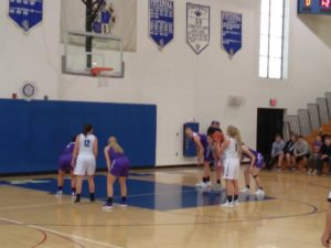 The Ishpeming Hematites Girls Basketball Team (44) Faces the Gladstone Braves (49) in First Game of Double-Header Monday Night on 98.3 WRUP