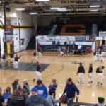 Gwinn shoots at their basket before their game against the Hematites on Wednesday night.