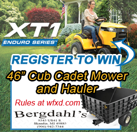 Win a Cub Cadet Mower and Hauler