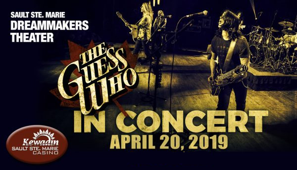 Win Tickets to see The Guess Who & a 1-Night Stay