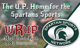 Follow Spartan Sports with WRUP