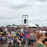 There were thousands of people at Rock USA 2019.