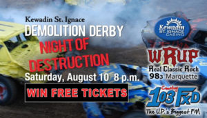 Win tickets to Demolition Derby