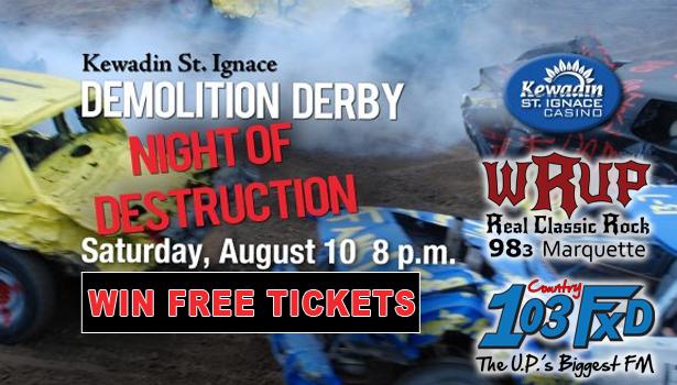 Win tickets to Demolition Derby