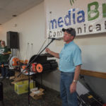 Mike from Four Seasons Small Engine talking about the Perfect Yard Giveaway
