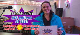 Crossroads Mini-Mart Gas Winner