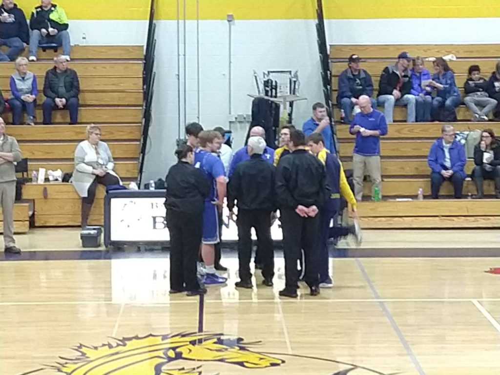 Captain Meeting Between Ishpeming and Bark River