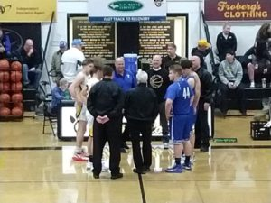 Captains Meeting Between Ishpeming and Gwinn
