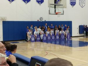 Senior Night in Ishpeming