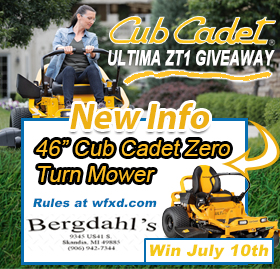 Win the Cub Cadet ULTIMA ZT1 Zero Turn Mower