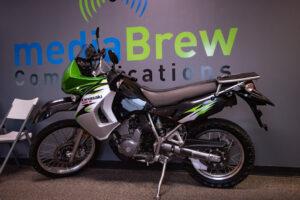 Win this 2007 Kawasaki KLR650