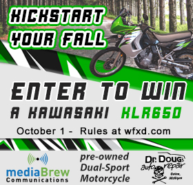 Win the Kawasaki KLR650 Motorcycle