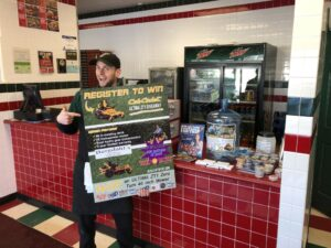 Jet's Pizza was so excited to be a part of the contest registration!