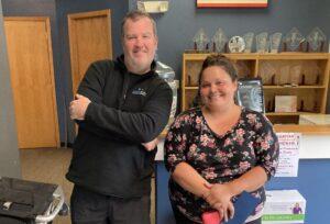 Swick Home Services Gold Service Package Winner Shanna Klabucher!