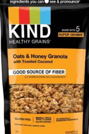 Allergy Alert: KIND Issues Voluntary Recall Due to Undeclared Sesame Seeds in Oats & Honey July 15, 2020