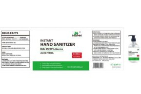 CorgioMed, LLC is voluntarily recalling all lots of Leafree Instant Hand Sanitizer-Aloe Vera September 14, 2020