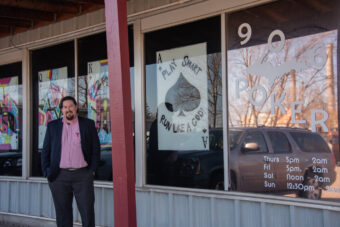 Josh Thatcher, the owner of the 906 Poker Social Club