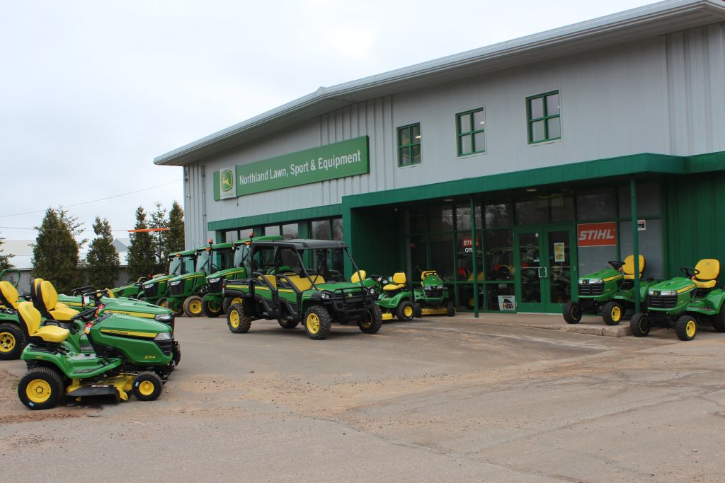 Check out Northland's big inventory of mowers and tractors!
