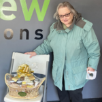 Lucille Scotti took home the gift basket prize from Tadych's Econo Foods!
