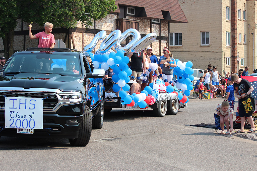 Ishpeming High School at the 4th of July Parade