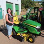 Congratulations Kaylee on winning the x350 John Deere riding lawn mower from Northland Lawn, Sport & Equipment!