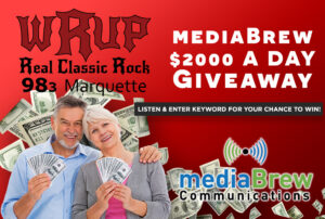 The mediaBrew $2000 a Day Giveaway featured image