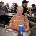 She won one of the beer token prizes